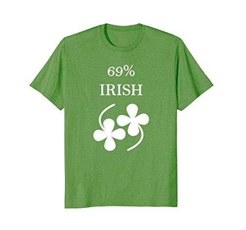 69% Irish Funny St. Patrick's Day T-shirt