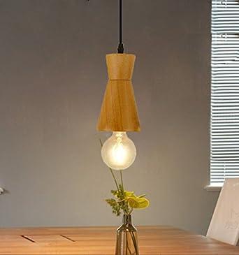 MStar Retro lámpara de escritorio de metal y madera Vintage ...