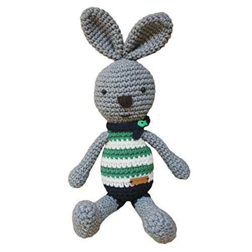 iHanco My Friend Big Bunny Knitting Doll Gray by iHanco