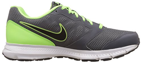 Nike Downshifter 6 MSL Mens Running Shoes, Dark Grey/Black - Ghst Grn-White (8)