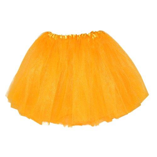 Girls Ballet Tutu Neon Orange