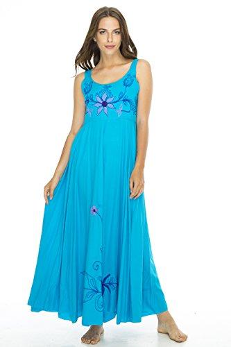 Dress Joy Maxi Turquoise L/XL