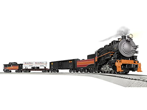 Nassau Game Set - Lionel Southern Pacific Rising Sun 0-8-0 Lion Chief Ready to Run Train Set