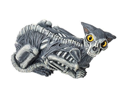 (Scary Haunted House Skeleton Zombie Lawn Cat Party Decoration Halloween)