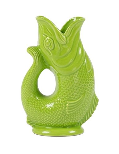 Gluggle Pitcher Color: Moss Green by Wade Ceramics