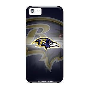 LJF phone case Excellent Design Baltimore Ravens Phone Case For Iphone 5c Premium Tpu Case