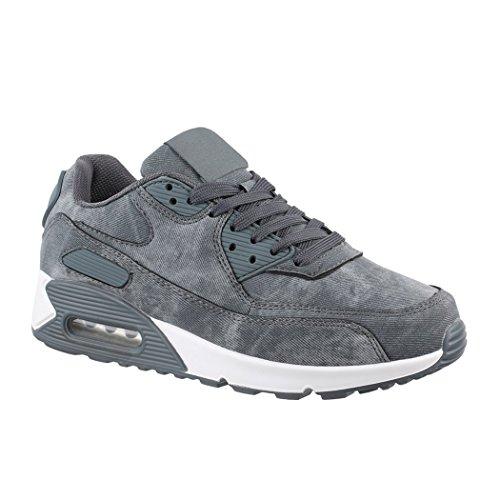 Elara Damen Herren Sneaker | Femmes Espadrille D'hommes Unisex Sport Laufschuhe Turnschuhe Chunkyrayan Jeans Unisexe Chaussures De Course Espadrilles Jean