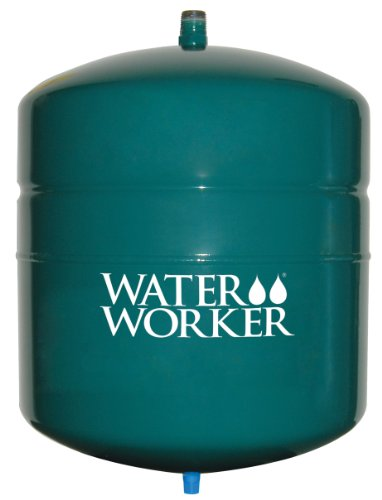 WaterWorker G-12L Tank without Valve Water Heater Expansion Safety Tank, 4.4-Gallon Capacity, Green