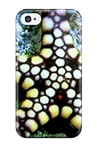 High Quality Roderick T Pruitt Black And White Sea Star Skin YY-ONE Specially Designed For Iphone - 4/4s