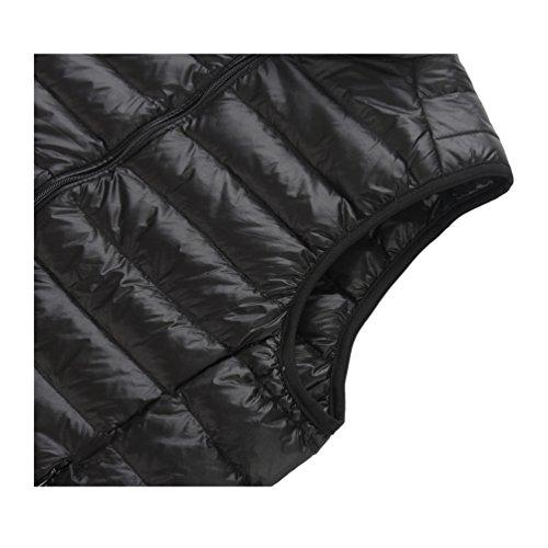 breve Chaquetas mantener cuello caliente recta down la ligero abrigo párrafo 02 de chaleco cremallera macho x1nwq1r8A7