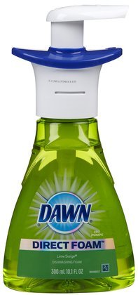Dawn Direct Foam Dishwashing Foam-Lime Surge-10.15 oz., 300 milliter (Quantity of 6)