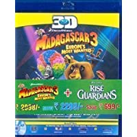 Rise of the Guardian/Madagascar 3 (3D)