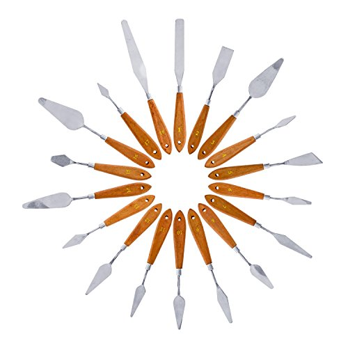 US Art Supply 18-Piece Artist Palette Knife Set by US Art Supply (Image #1)