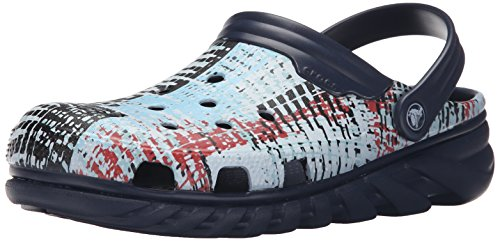 Crocs Unisexe Duo Maille Max Maille Mule Navy