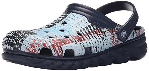 Mule Clog Imprimer Max Duet Navy Mesh Crocs w1XBqI