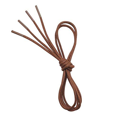 VSUDO Waxed Round Shoelaces, 1/8