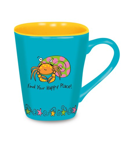 Cape Shore Love Mug, Hermit Crab - Crab Mug