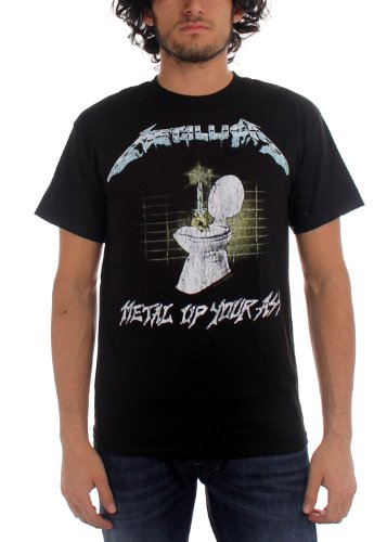 Official Men's Metallica Metal Up Your Ass T-Shirt - XL or XXL