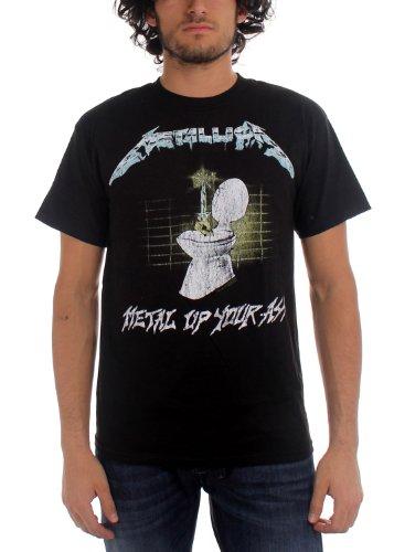Official Men's Metallica Metal Up Your Ass T-Shirt - XL or XXL