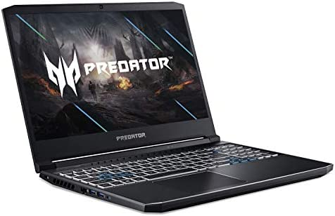 Acer Predator Helios 300 Gaming Laptop, Intel i7-10750H, NVIDIA GeForce RTX 2060 6GB, 15.6″ Full HD 144Hz 3ms IPS Display, 16GB Dual-Channel DDR4, 512GB NVMe SSD, WiFi 6, RGB Keyboard, PH315-53-72XD 41kOKiX8 zL
