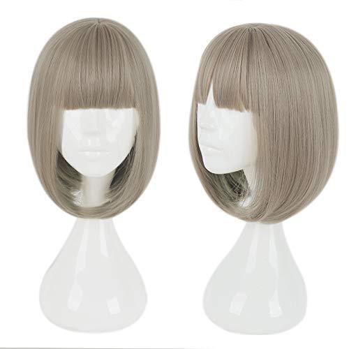 Mtxc SINoALICE Cosplay Hansel Gretel Bangs Short Wig Brown]()