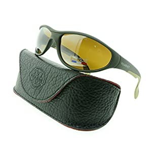 Vuarnet Sunglasses VL 0109 0005 2136 Green Matte with Brown SX 2000 Lenses