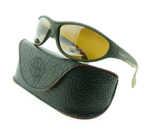 Vuarnet Sunglasses VL 0109 0005 2136 Green Matte with Brown SX 2000 - Vuarnet Nylon Sunglasses