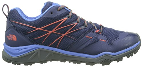 The North Face W Hedgehog Fastpack Lite, Zapatillas de Senderismo para Mujer Azul (Patriot Blue / Radiant Orange)