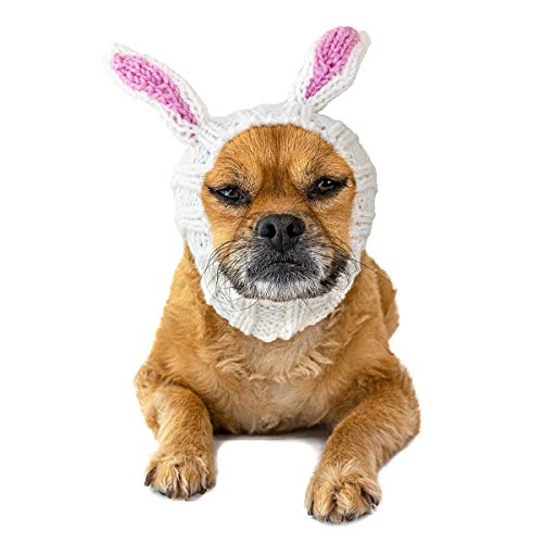 Zoo Snoods Bunny Dog Costume - Neck and