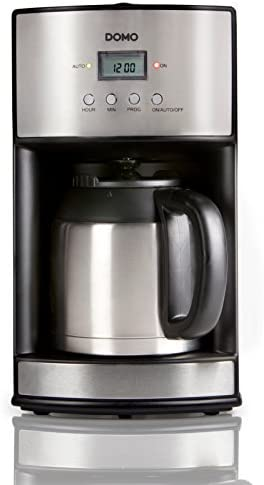 Domo DO474K Independiente Manual - Cafetera (Independiente ...