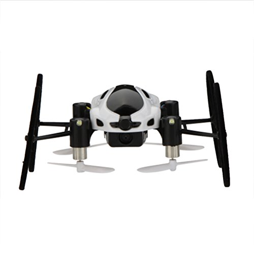 Pixnor 318B 2-in-1 2.4GHz 4CH 6-Axis Gyro Mini Hybird RC Car-copter Quadcopter Drone UFO with 2.0MP HD Camera LED Lights