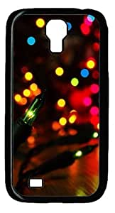 Customized Christmas Light Case for Samsung Galaxy S4 Hard Plastic Personalized Protected Case-- Design By Orange Accessories