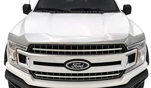 Auto Ventshade 622096 Aeroskin Flush Mount Chrome Hood Protector for 2015-2018 Ford F-150