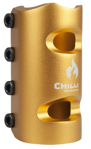 Chilli Pro Scooter 4-Bolt SCS Clamp V2 34.9MM (Gold)
