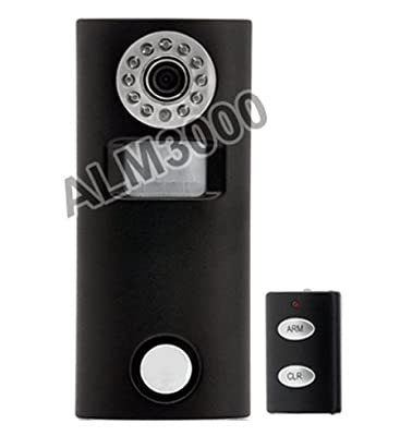2-In-1 Solar-Powered Motion Alarm Camera With IR Remote