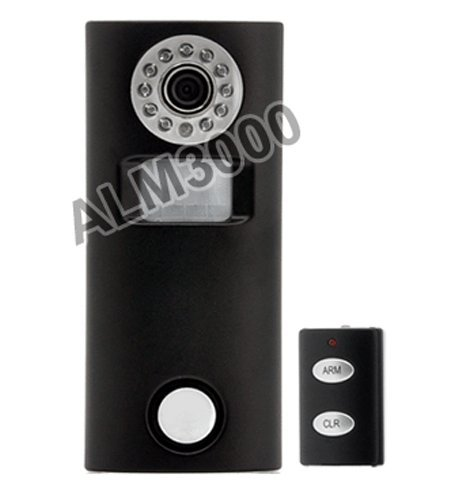 AllAboutAdapters 2-In-1 Solar-Powered Motion Alarm Camera With IR Remote price tips cheap
