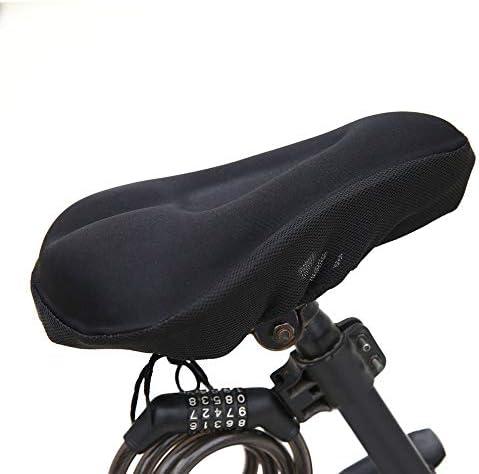 自転車 サドルカバー 自転車自転車3Dシリコンとゲルパッドソフト厚いサドルカバーサイクリングサイクルシートクッションユニバーサルシートカバーパッドバイクアクセサリー