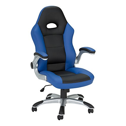 Method - Computer Gaming and Office Chair by SkyLab Performance Seating F.C., Blue/Black School Outfitters