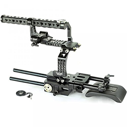 camtree-hunt-fs700-camera-cage-rig-with-top-handle-shoulder-pad-for-sony-nex-fs700-free-storage-cage