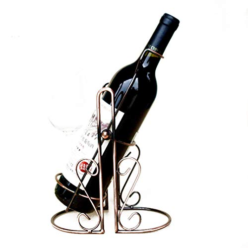 NOMIMAS Creative Metal Swing Wine Stand Wine Bottles Decor Display Shelf Home Decoration Interior Wine Stand Crafts