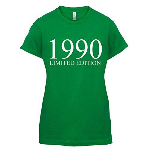 1990 Limierte Auflage / Limited Edition - 27. Geburtstag - Damen T-Shirt - Grün - S