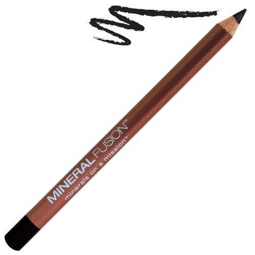 Минеральная Fusion Natural Бренды карандаш для глаз, уголь, 0,04 Унция