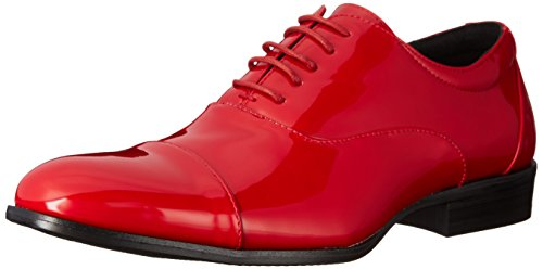 Stacy Adams Heren Gala Glb-teen Smoking Lace-up Oxford Schoen Rood Patent