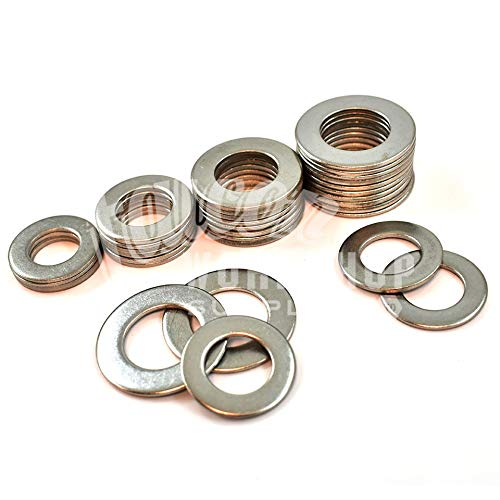 Pack of 50 x M6 Form B Washers - A2-304 Stainless Steel Falcon Workshop Supplies Ltd