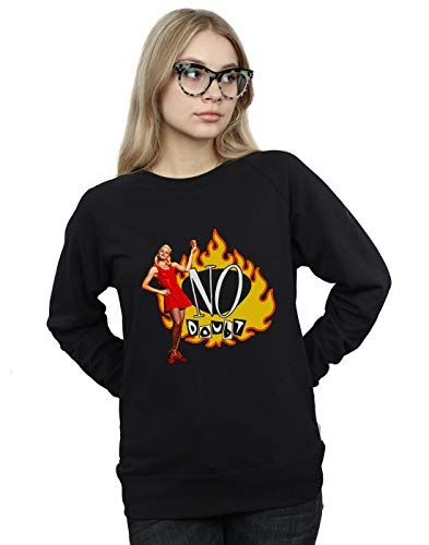 Absolute Entrenamiento Cult Flames Gwen Mujer Camisa No De Negro Doubt agrwA4q8a