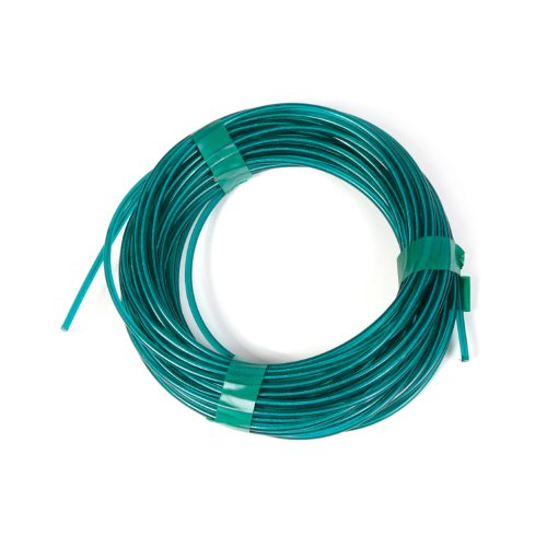 Clothesline Farm (Koch Industries 5630525 Coil Vinyl Coated Wire, 5/32-Inch by 100-Feet, Green)