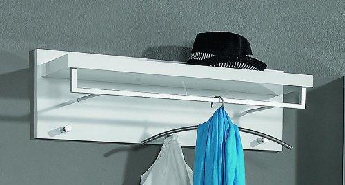 Garderobenpaneele Lagos Hutablage Mit Kleiderstange Korpus Weiss