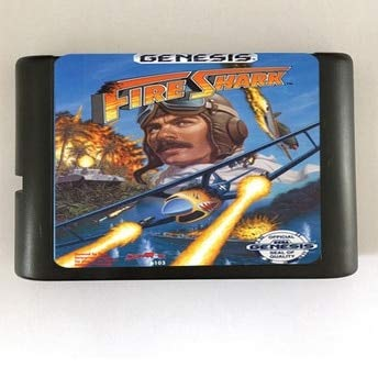 - Value-Smart-Toys - Fire Mustang - City Under Siege - 16 bit MD Games Cartridge For MegaDrive Genesis console