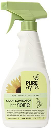 PureAyre Home/All-Purpose Odor Eliminator, 14-Ounce Bottle (Pack of 4) by Clean Earth, Inc -
