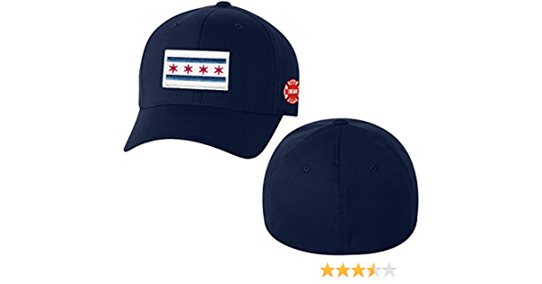 Chicago Fire Department Hat Arched Logo Adjustable Unstructured